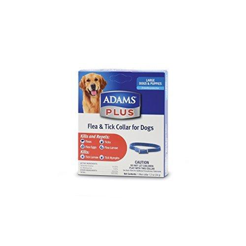 Adams Plus Flea & Tick Collar for Dogs, Large by Adams