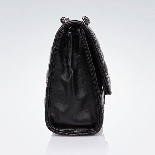 été Forfait bag bandoulière les Sac Ling à Printemps Chaîne 3 femmes grille et Mode Noir Mme Marée sacs pour Lady 5nxn470Zz