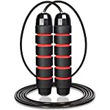 Skipping Rope Great Jump Rope for Fitness, Speed, Conditioning & Fat Loss. Ideal for Boxing, Home & Gym Workouts, HIIT, Interval Training & Outdoor Exercise