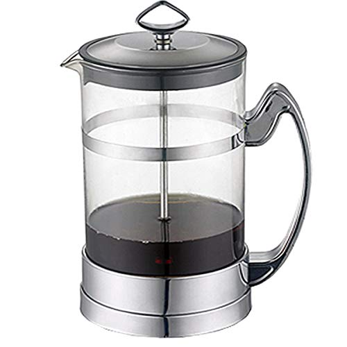 Cafetera Francesa French Press, Cafetera Americana De Acero Inoxidable 304 Filtro De Malla De Acero Inoxidable con…