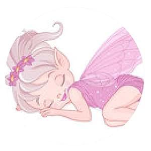 alfombrilla de ratón Hada durmiente pixie - ronda - 20cm