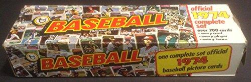 1974 Topps Baseball Factory Set Super Rare 704 Cards Nrmt SHARP! ()