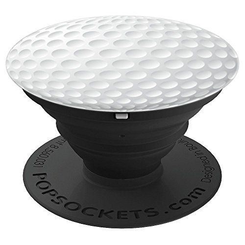 Golf Ball Design Cell Phone Stand Cool Gift for Golfers Dads - PopSockets Grip and Stand for Phones and Tablets
