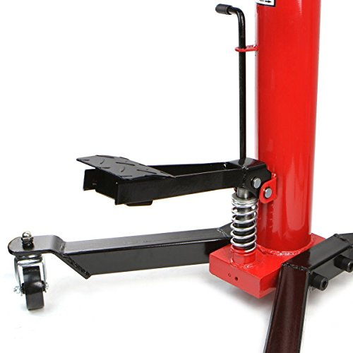 COLIBROX-- 1100lbs Transmission Jack 2 Stage Hydraulic w/ 360° for car lift  auto lift new Ton Air Hydraulic Floor Jack