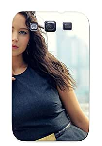 Awesome EqUuATv436WkGfy Gritcyrcrd Defender Tpu Hard Case Cover For Galaxy S3- Jennifer Lawrence