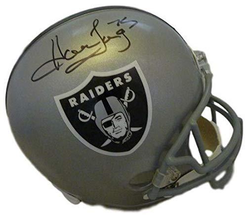 Howie Long Autographed Oakland Raiders full size helmet JSA