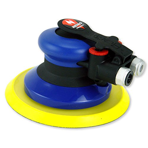 Neiko 30077A Composite Body Vacuum Ready Random Orbiter Air Palm Sander, 6''/12000 RPM by Neiko