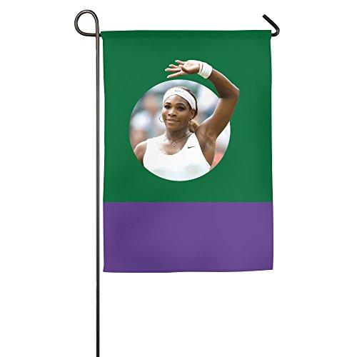 Ptloveing Serena Williams House Flag Home Flag