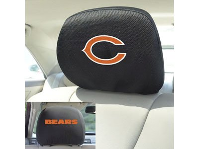 FANMATS 12493 Head Rest Cover NFL (Chicago Bears)