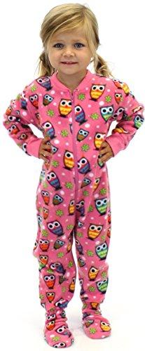 f1043acd1a00 PajamMania Kids Footed Pajamas (Owl