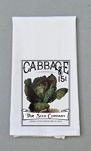 Cabbage Seed Packet Print - Kitchen Tea - Seed Packet Cabbage