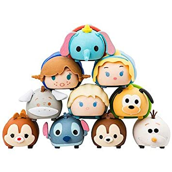 DISNEY TSUM TSUM 3D PUZZLE ERASER 10PK IN WINDOW BOX by Sambro