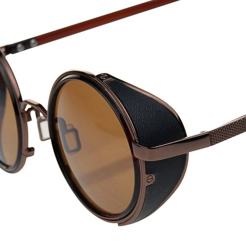 Unisex Adulto Gafas de Marrón Sol BqwnvE0