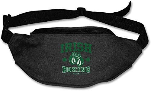 アイルランドボクシングユニセックスアウトドアファニーパックバッグベルトバッグスポーツウエストパック