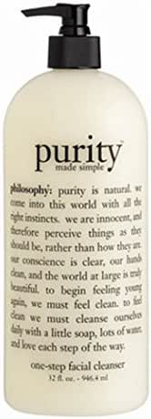 Philosophy Purity Made Simple One Step Face Cleanser 32 oz JUMBO