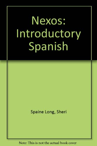 Student Video And Multimedia Cd-rom: Used with .Spaine Long-Nexos: Introductory Spanish