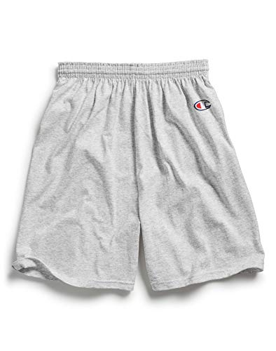 Champion Men's  6-Inch Silver Gray   Cotton Jersey Shorts - XXX-Large