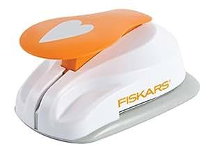 Fiskars 5464 - Perforadora de figuras, corazón