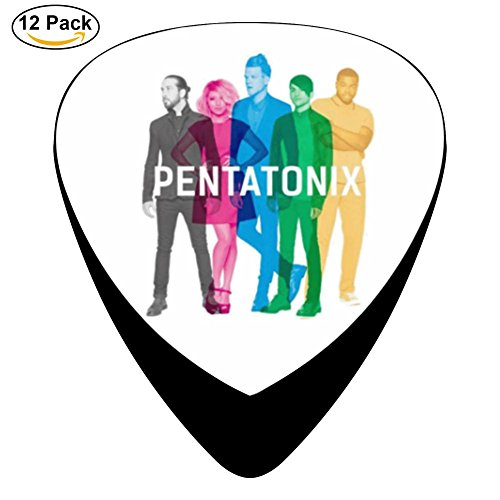 Pentatonix Sing Off Christmas - Chono 12-pack Pentatonix Guitar Picks Plectrums for Guitar Bass