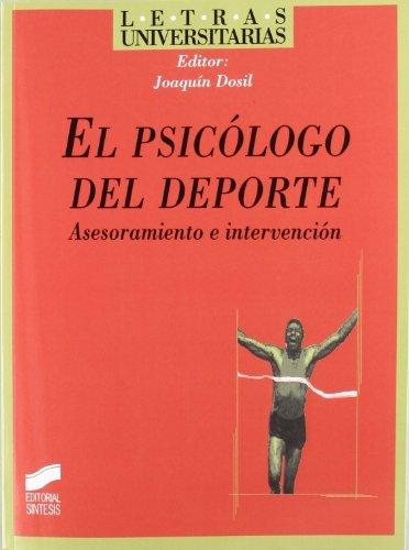 Amazon.com: El psicólogo del deporte. Asesoramiento e ...