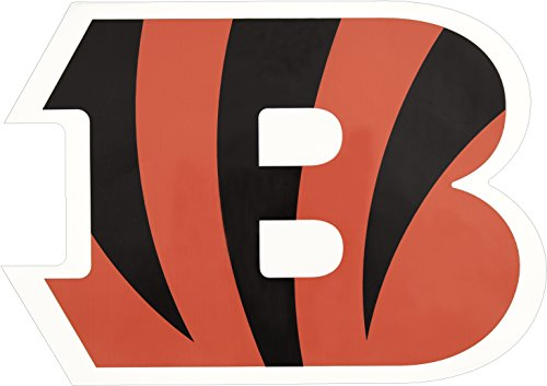 Applied Icon, NFL Cincinnati Bengals Outdoor Large Primary Logo Graphic Decal