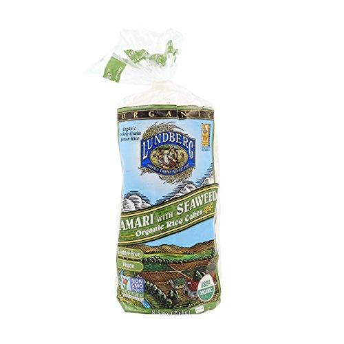 (Lundberg Organic Tamari Seaweed Rice Cake - 9)