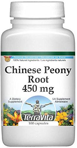 Chinese White Peony Root - 450 mg (100 capsules, ZIN: 514909) ()