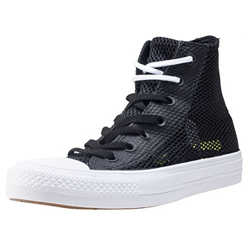 Converse Top Mens Star Trainers All white Taylor Hi Ii Chuck Black 1r1Hqwx