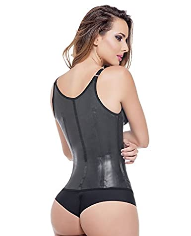 dc8247c8e4 Ann Michell Semi Vest Latex Waist Cincher at Amazon Women s Clothing store