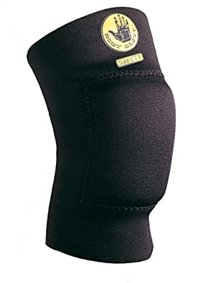 Body Glove 90198 Breathable Neoprene 12-Inch Padded Knee Support, Black, X-Large
