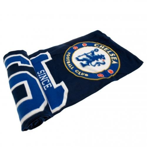 Chelsea F.C. Fleece Blanket ES by Chelsea F.C. (Chelsea Fc Fleece Blanket)
