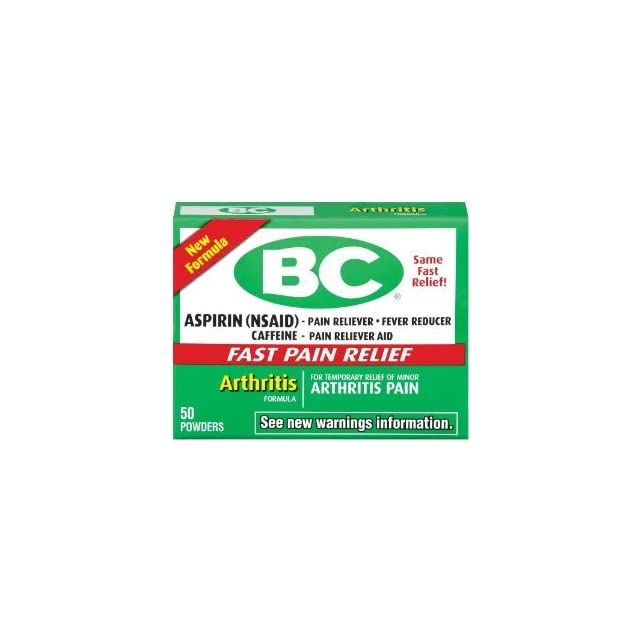 BC Arthritis Formula Powder, 50 Count (PACK OF 2)