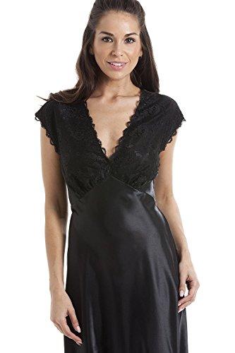f80fb9f94120f1 Camille Damen Negligee schwarz schwarz Gr. 42, schwarz: Amazon.de:  Bekleidung