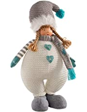 WeRChristmas - Figura de Navidad (44 cm), diseño de niña