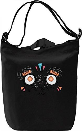 Monster Borsa Giornaliera Canvas Canvas Day Bag  100% Premium Cotton Canvas  DTG Printing 