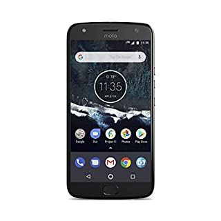 Motorola Moto X4 Android One Edition Factory Unlocked Phone - 5.2inch Screen - 32GB - Black (U.S. Warranty)