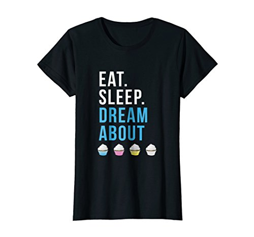 ream About Cupcakes T-Shirt XL Black ()