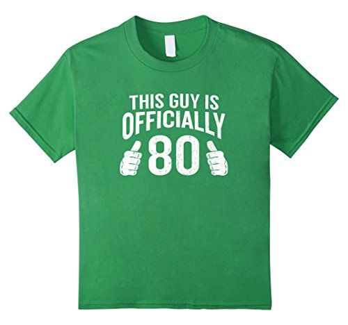 Kids Funny 80th Birthday This Guy Is Eighty T-Shirt Cool Guys 12 (80s Costume Ideas Guys)