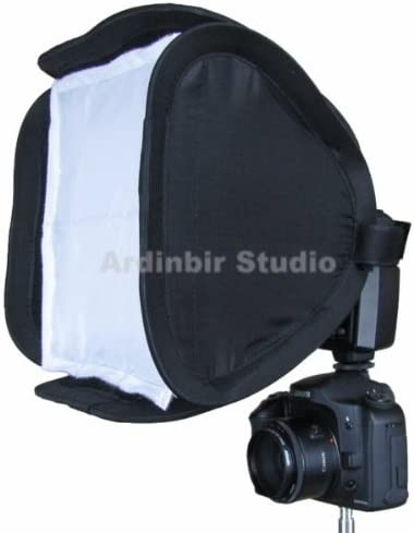 20D SX10IS 350D T1i Xsi 1D Mark II SX1IS Universal 10 25cm Easy Fold Open Setup Flash Softbox Diffuser for Canon EOS 600D Xti T3i 50D XS 40D 500D 10D SX20IS 7D T2i 1000D 60d 400D III 450D IV 550D 1Ds XT 5D Mark II