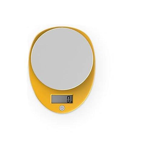 Cucsaist Balanzas De Cocina Balanzas Electrónicas De Alta Precisión Mini Escalas para Hornear Pasteles 5 Kg