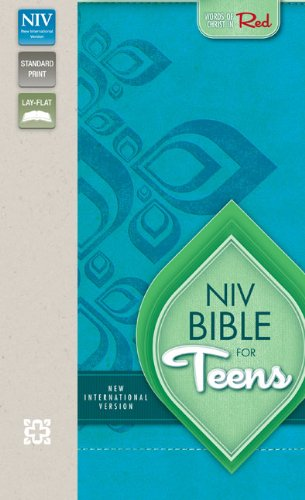 NIV, Bible for Teens, Imitation Leather, Blue