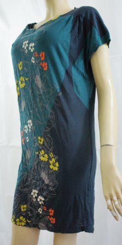 Next -  Vestito  - Basic - Senza maniche  - Donna Multicolore Mehrfarbig - Multi Colour Printed Small