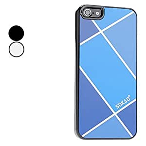 Procesamiento de dos días -Diseño exquisito caso sokad espejo superficie firme y durable para el iphone 5/5s (colores surtidos),Black