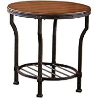 Steve Silver Company Veneta End Table, 24W x 24D x 24H