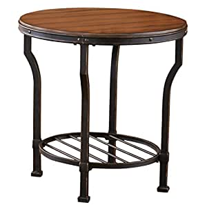 Steve Silver Company Veneta End Table 24 W X 24 D X 24 H Kitchen Dining