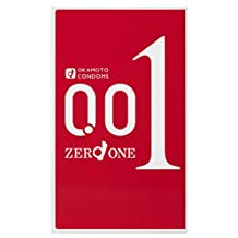 Okamoto Zero One 0.01 mm 3 pieces April 8th 2015 Latest Japanese condom release
