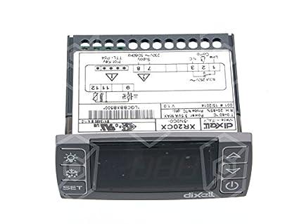 Bomann Kühlschrank Regler : Dixell elektronikregler xr cx n c v für kühlgerät ac für ntc
