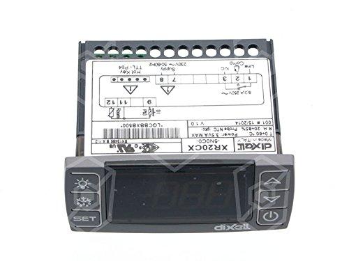 régulateur électronique type de Dixell xr20cx Appareil de 5N0C0de réfrigérateur, kühltisch 230V AC de 55à + 150°C 10kOhm/PTC 71x 29mm Pour Sonde NTC Gastroteileshop