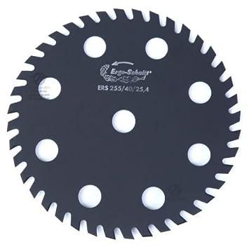 Hoja Disco ERGO-SCHNITT 40 dientes desbrozadora. Diámetro 225 mm ...