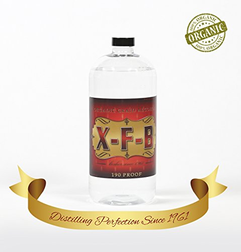 32 OUNCE 190 PROOF USP CERTIFIED 100% ORGANIC AND DISTILLED TO PERFECTION *** FOR A VERY LIMITED TIME BUY 4 GET THE 5th ONE ABSOLUTELY FREE *** THAT'S A 25% SAVINGS ON THIS FABULOUS PRODUCT (100 Proof Alcohol)